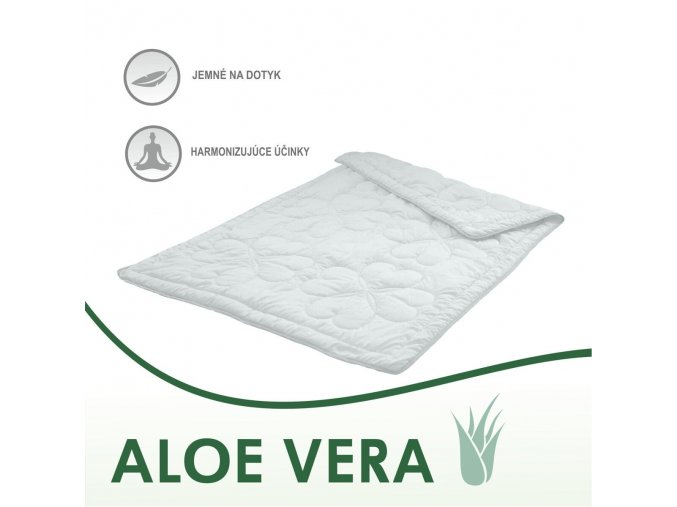 Aloe Vera PAPLÓNY 140x200 cm Emozzione