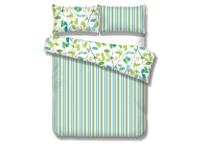 postelne-navliecky-na-dvojpostel-240x210-farba-zelena-siena