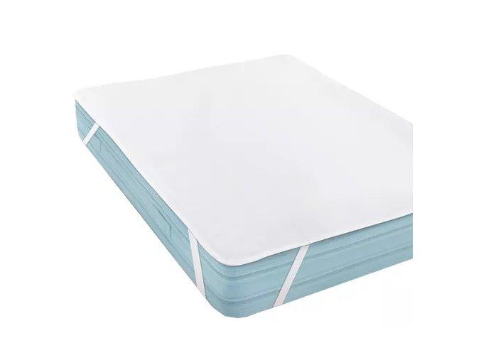 c17a6ea5826a45961nepremokavý matracový chránič biely Jersey Micro, pranie do 60 stupňov