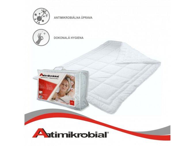 Antimikrobiálny paplón 140x200, 140x220, 220x200 a 240x210 cm cm balenie