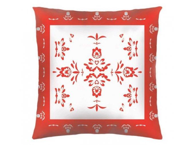 HYBE RED - dekoračný vankúš