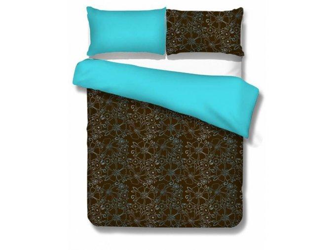 obliečky Alberta brown aqua
