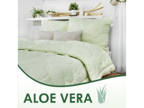 vankúše Aloe Vera green
