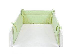 Mantinel zelený - detský chránič 210x32 cm Emozzione