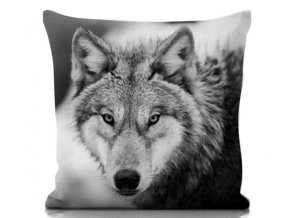 dekoračný vankúš Wolf