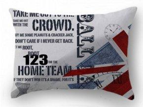 Dekoračný vankúš so zástavou Britian