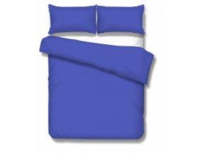 jednofarebné saténové obliečky Satén blue