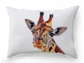 Dekoračný vankúš so žirafou