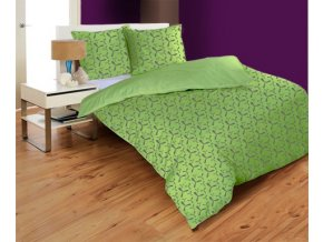 obliečky PROPELLER GREEN - micrometallic 70x90, 140x200 cm Emozzione