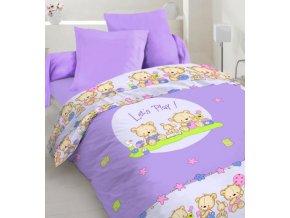 Let´s play violet - detské obliečky