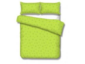 obliečky BEAM GREEN - micrometallic 70x90, 140x200 cm Emozzione