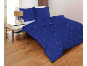 STARS MODRÉ - obliečky micrometallic