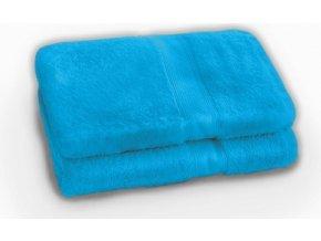 uterák a osuška  - DE LUXE VIVID BLUE 70 x 140 cm Emozzione