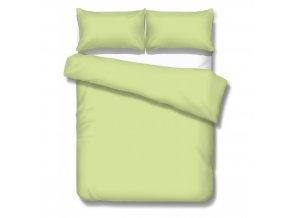 SATÉN SPRING GREEN - saténové obliečky