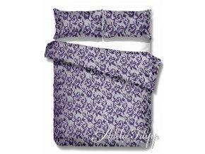 saténové obliečky Elegante purple