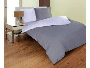 obliečky mikroovlákno farba sivá a biela rozmer 7090 140x200 cm na emozzione.sk