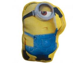 MINIONS 3D vankúš 40x40 cm vankúšik Emozzione