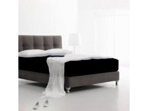 Jersey čierne - napínacie plachta 220 x 200 cm Emozzione