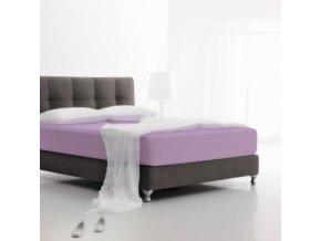 Jersey fialová - napínacia plachta 160x200 cm Emozzione