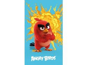 osuška ANGRY BIRDS RED 70 x 120 cm Emozzione