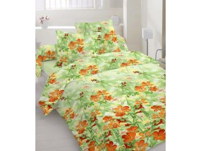 obliečky Flower orange