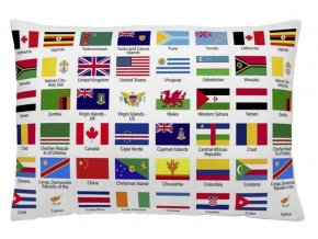 FLAGS - dekoračný vankúš