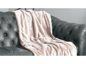 luxusná hrejivá deka Velvet corteza vo veľkosti 220x240 cm