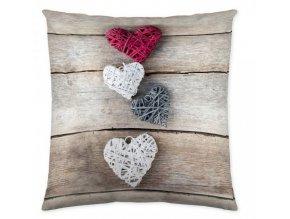 hearts wood