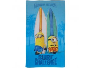 osuška MINIONS SURF 70 x 120 cm Emozzione