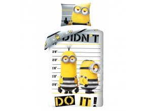 obliečky Minions do it
