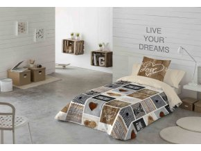 bavlnené obliečky Sweet Home LOVE