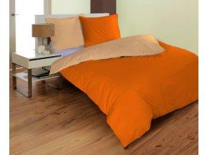 obliečka Micro apricot a orange