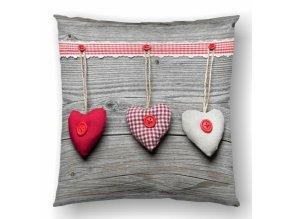 Hearts Natalia 45x45
