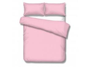 jednofarebné saténové obliečky Satén rosa