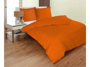 obliečky Mikrovlákno orange predĺžené