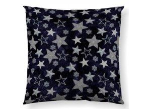 dekoračný vankúš Supernova blue