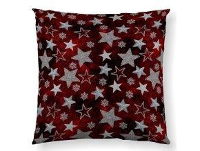 dekoračný vankúš Supernova red