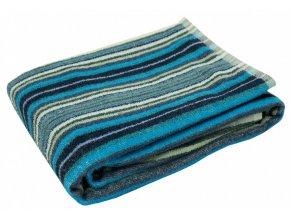 ľanová osuška linas space blue