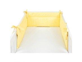 Mantinel žltý - detský chránič 210x32 cm Emozzione