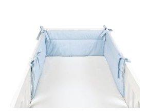 Mantinel modrý - detský chránič 210x32 cm Emozzione