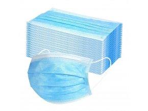 ochranné rúška jednorázové 50 kusov