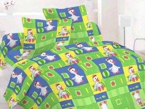 Kačička zelená - detské obliečky