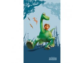 osuška Good dinosaur 70x120 cm s dinosaurom