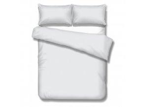 obliečky na manželskú posteľ Satén white 240x240, 70x90 cm