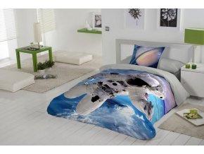 obliečky, kozmonaut, vesmír Galaxy