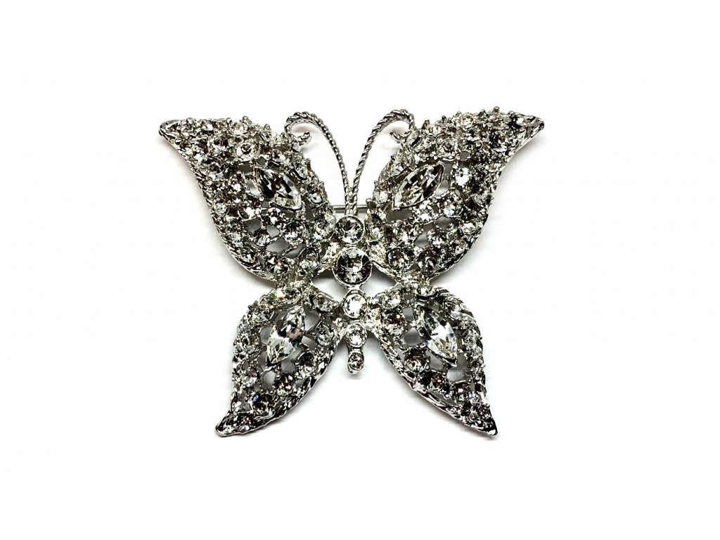Brož ve tvaru motýla