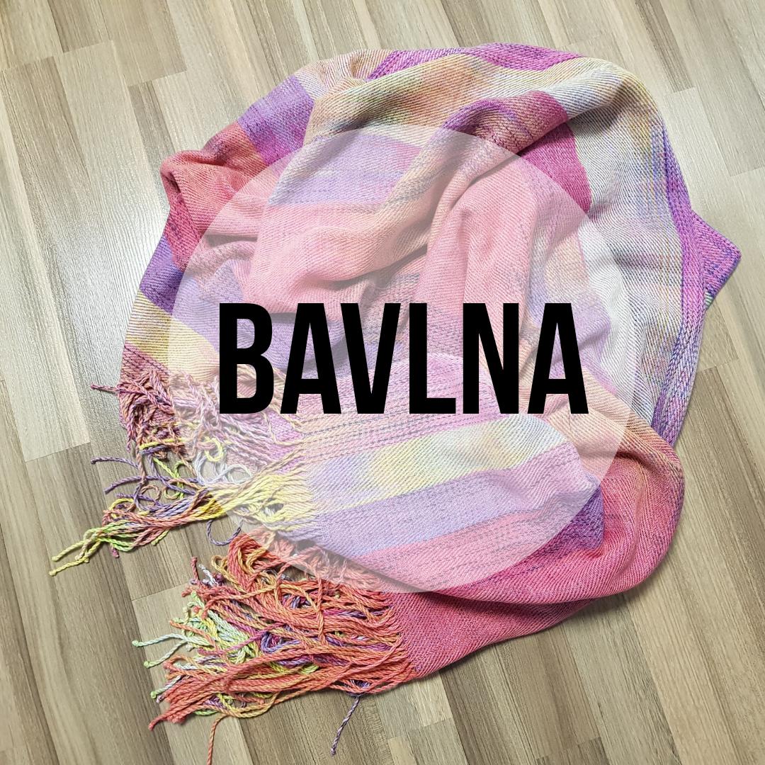 Složení šátků - BAVLNA