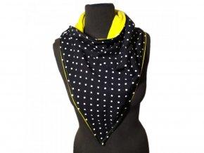 Nosicí mikina Žlutá Dot pro přední nošení, XS