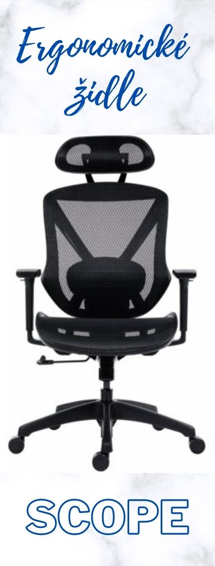 Ergonomické židle