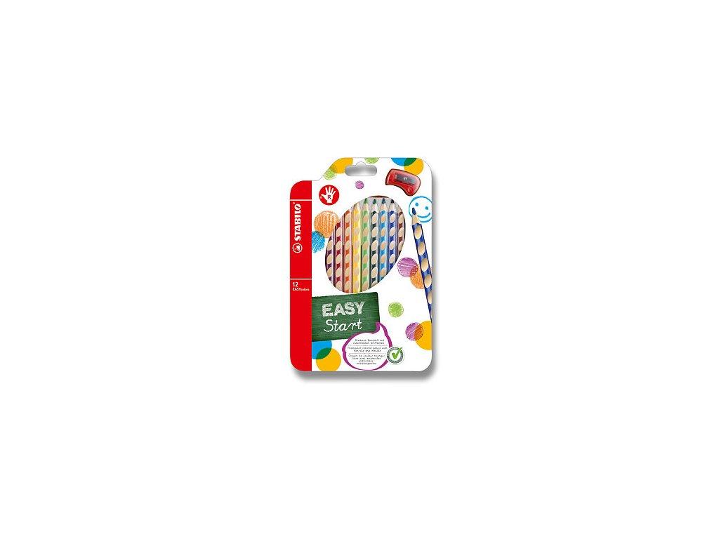 Pastelky Stabilo EASYcolors 12ks pro praváky